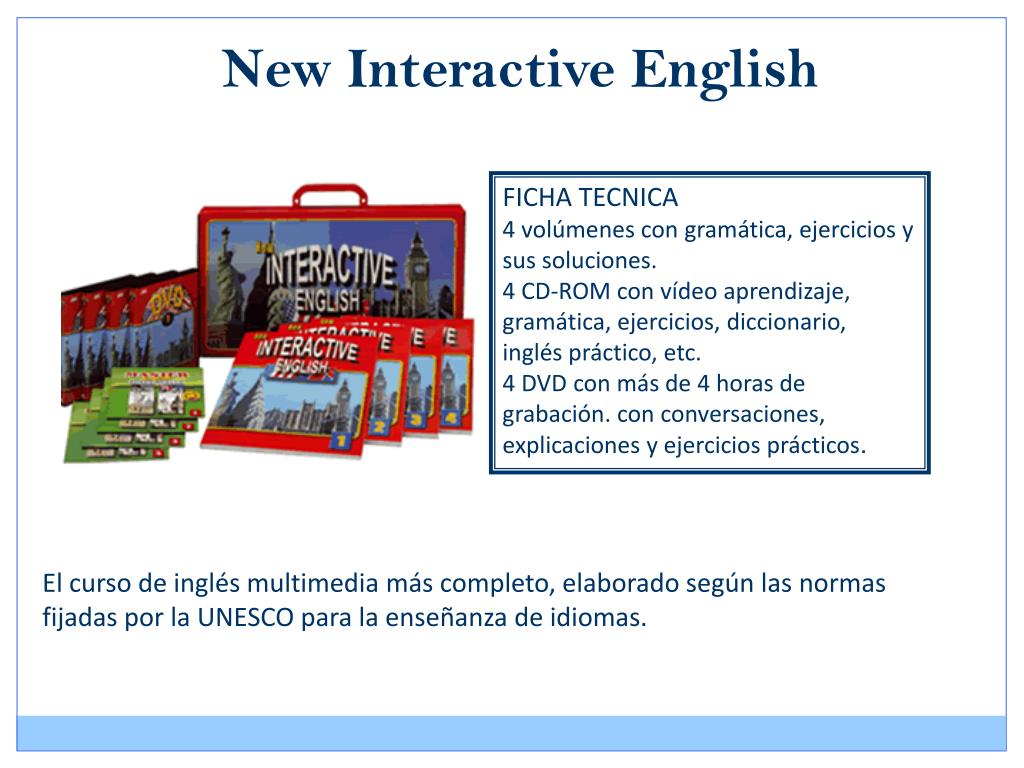New Interactive English