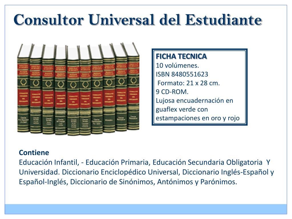 Consultor Universal del Estudiante
