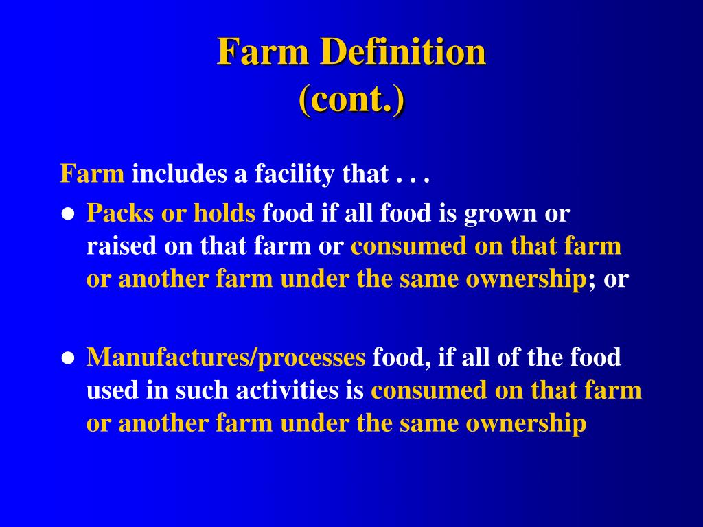 Farm Definition