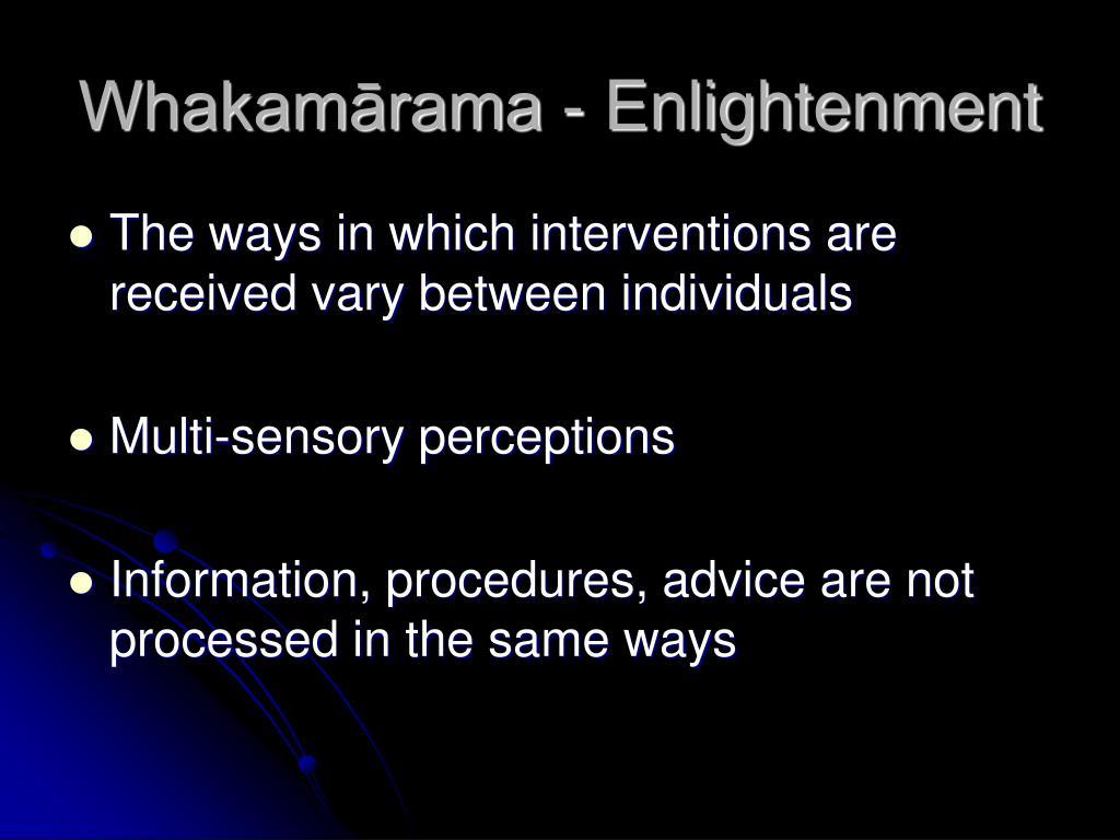 Whakamārama