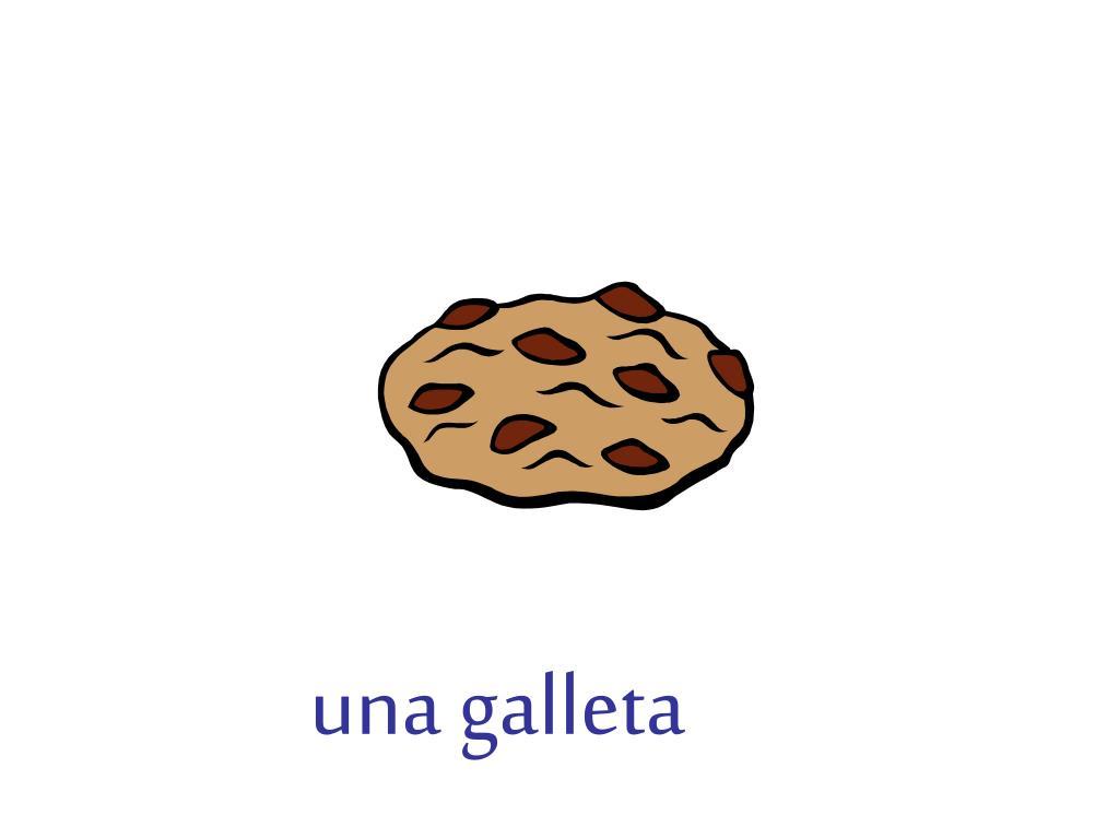 una galleta