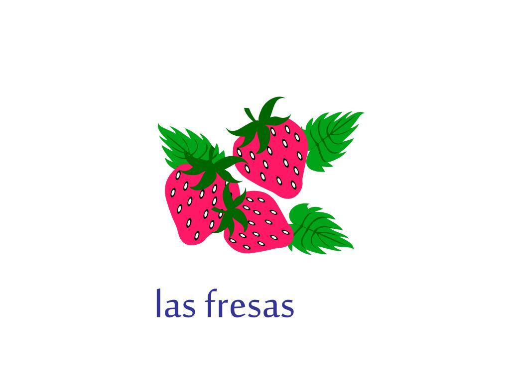 las fresas