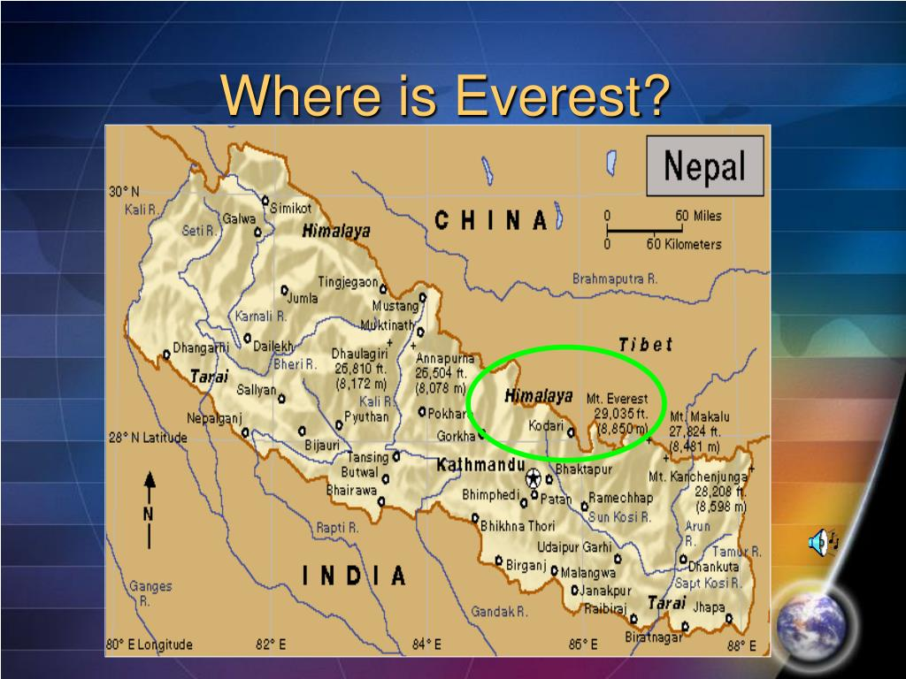 Where is Everest?