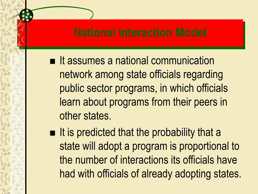 National Interaction Model