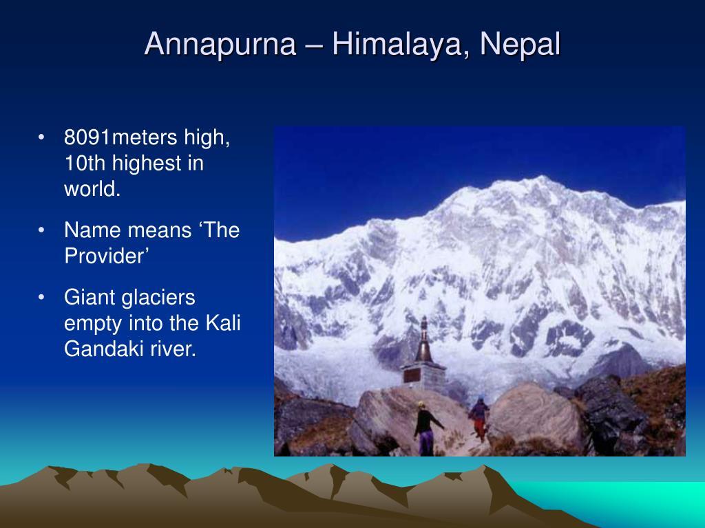 Annapurna – Himalaya, Nepal