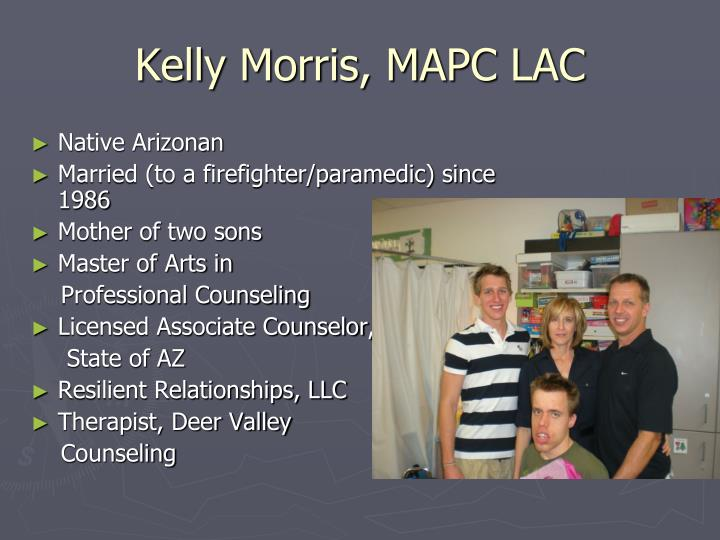 Kelly morris mapc lac