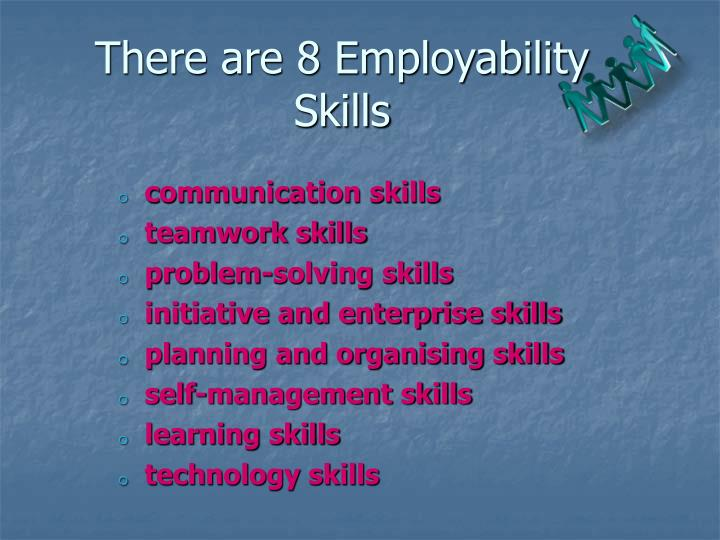 There are 8 Employability Skills