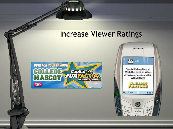 Increase Viewer Ratings