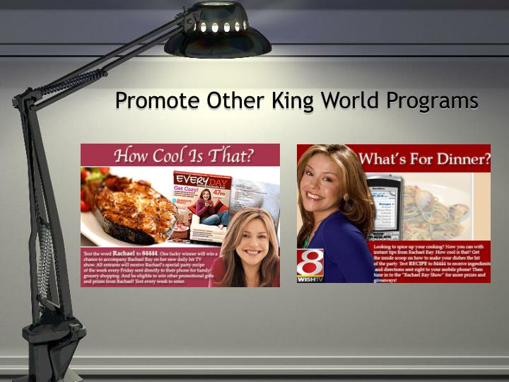 Promote Other King World Programs