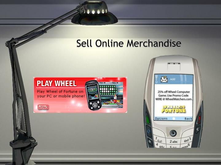 Sell Online Merchandise