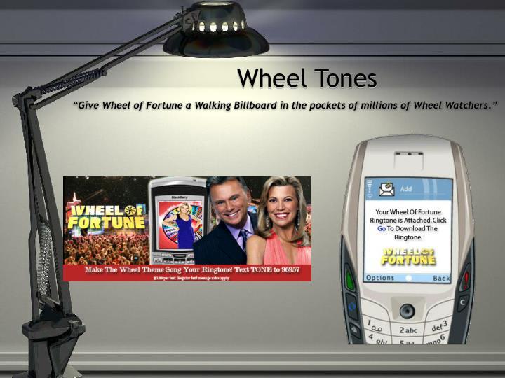 Wheel Tones