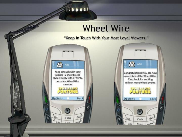 Wheel Wire
