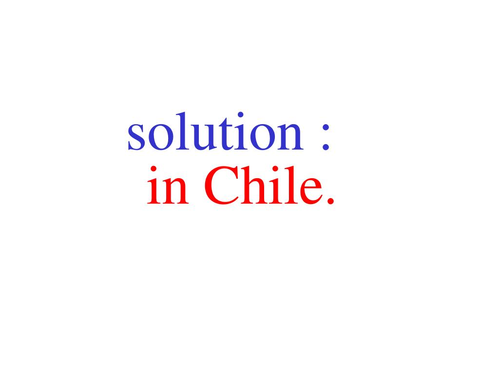 solution :