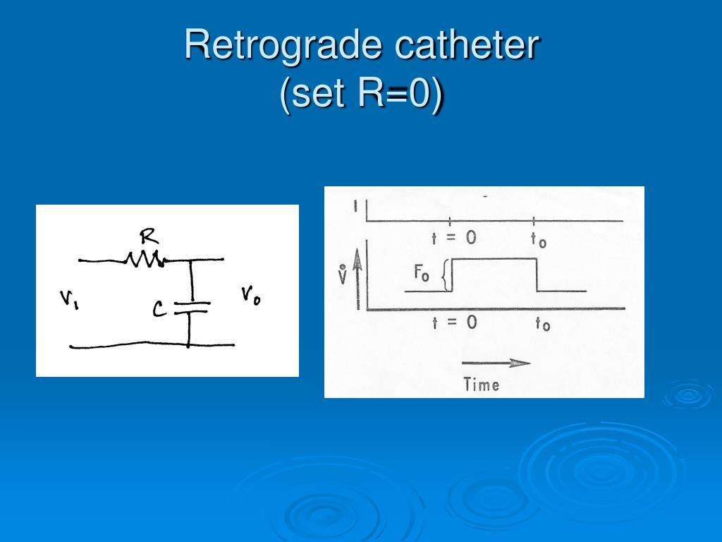 Retrograde catheter