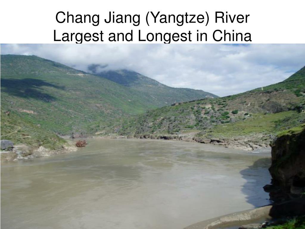 Chang Jiang (Yangtze) River