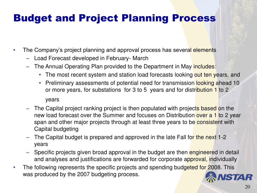 Budget and Project Planning Process