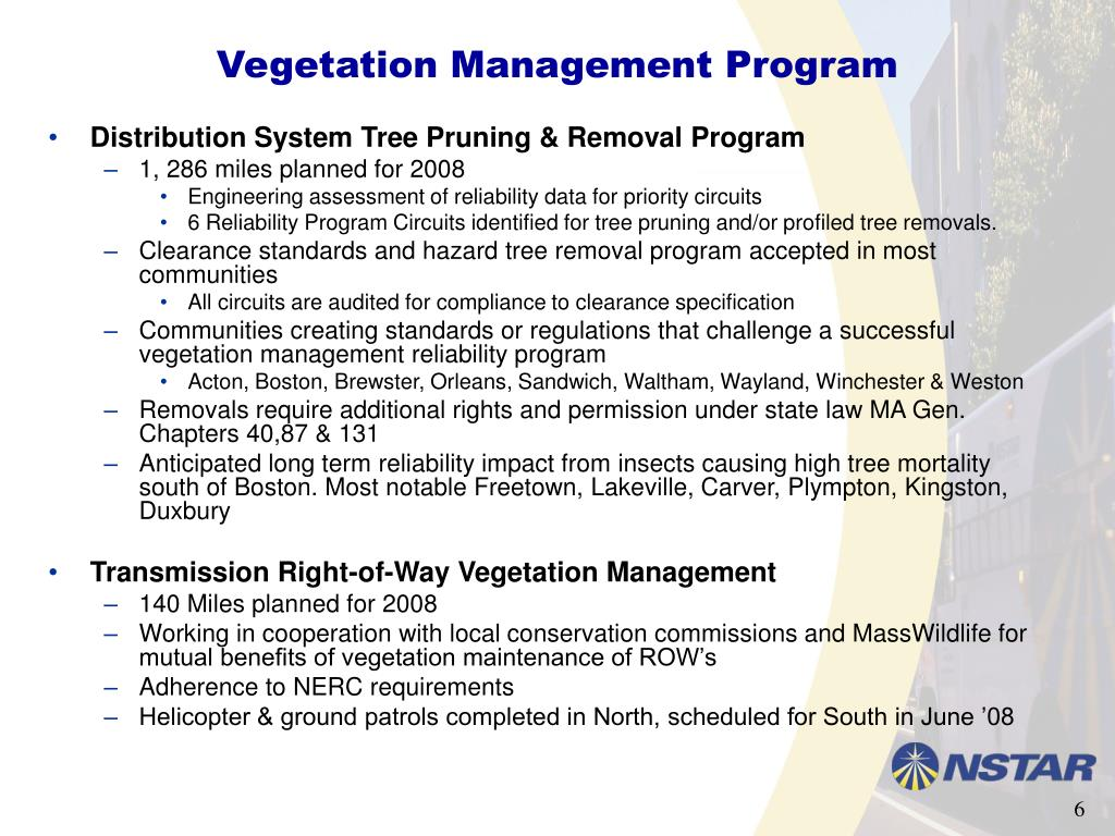 Vegetation Management Program