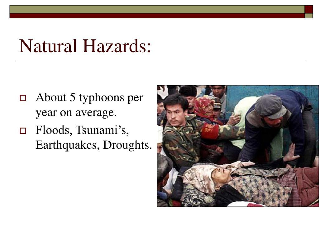 Natural Hazards: