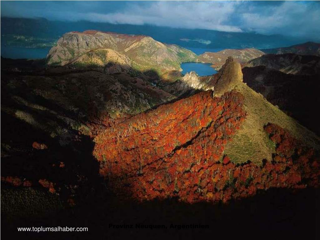 Provinz Neuquen, Argentinien