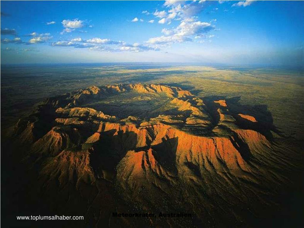 Meteorkrater, Australien
