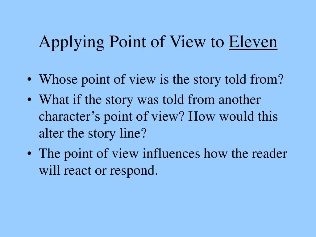the point of view in how Point of view, first-person point of view, second-person point of view, third-person point of view, omniscient third-person point of view, limited.