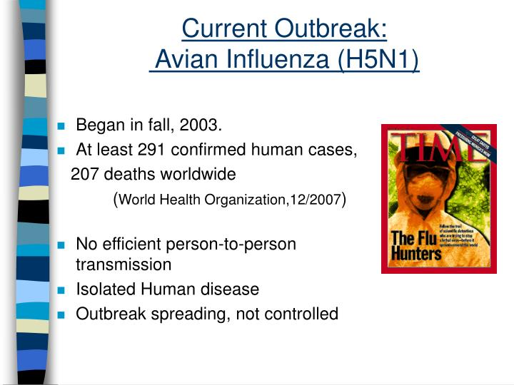 Current Outbreak: