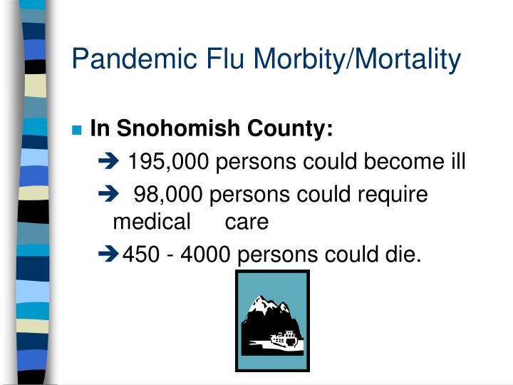 Pandemic Flu Morbity/Mortality