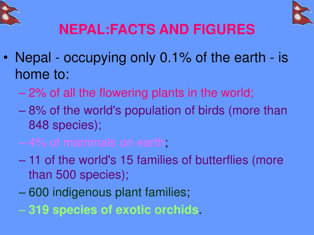 NEPAL:FACTS AND FIGURES