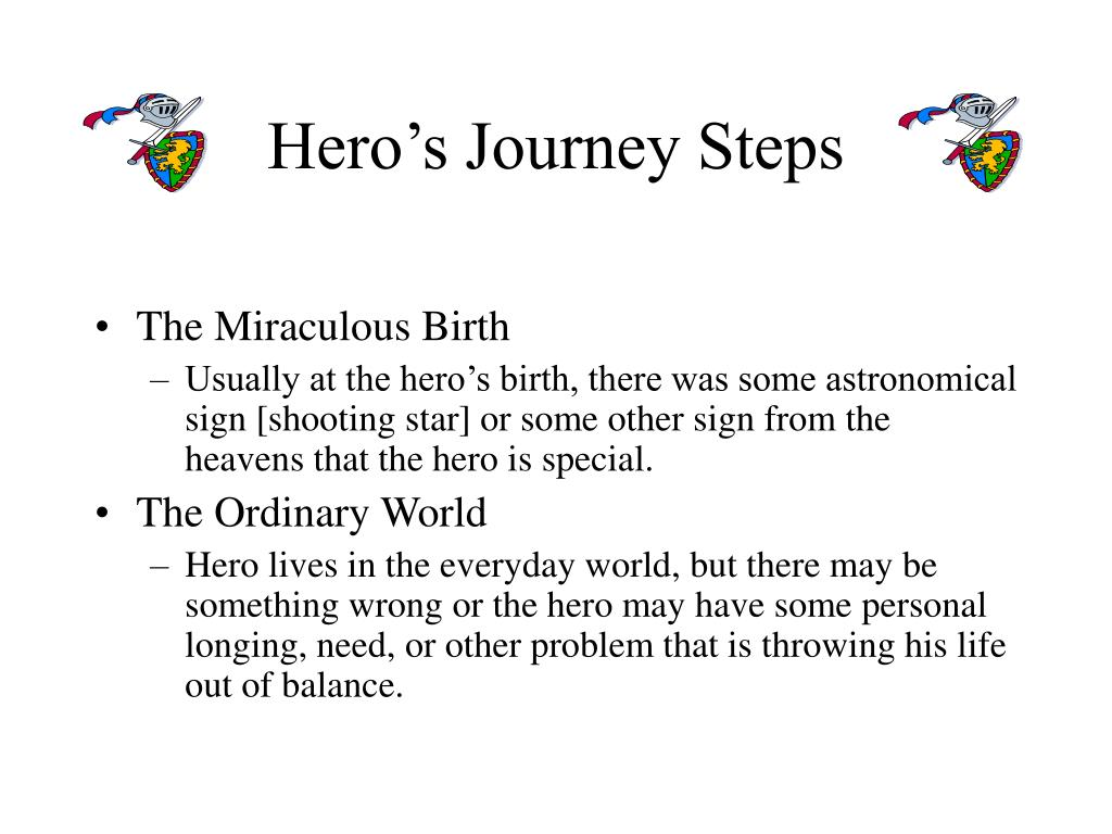 Hero's Journey Steps