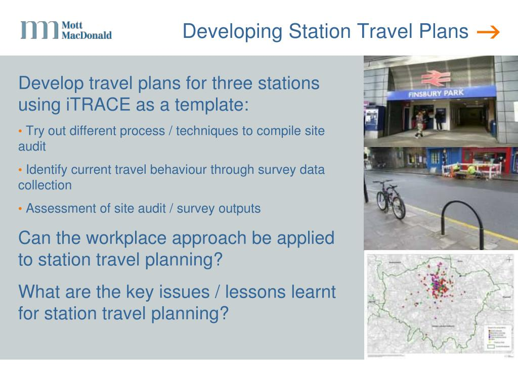 Developing Station Travel Plans