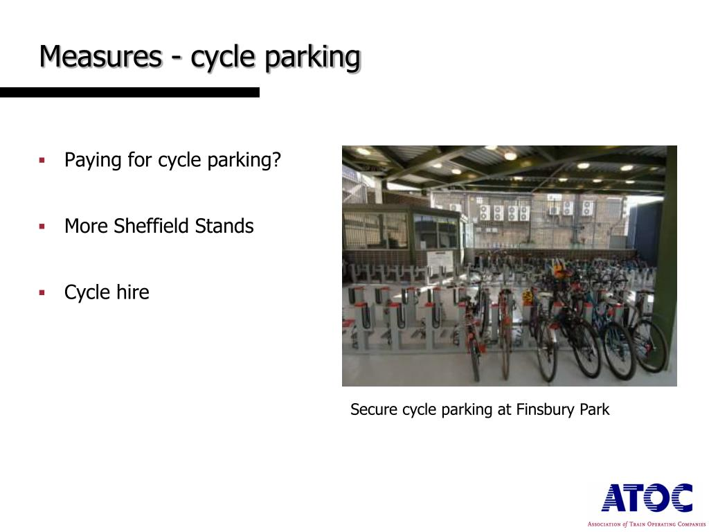 Measures - cycle parking