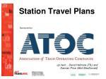 station travel plans41
