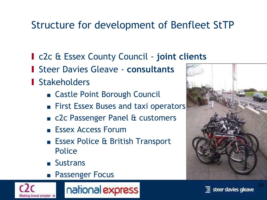 Structure for development of Benfleet StTP