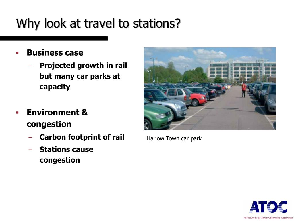 Why look at travel to stations?