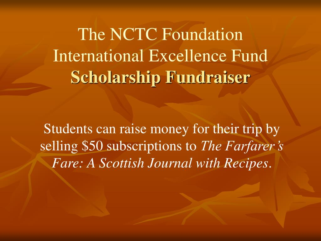 The NCTC Foundation