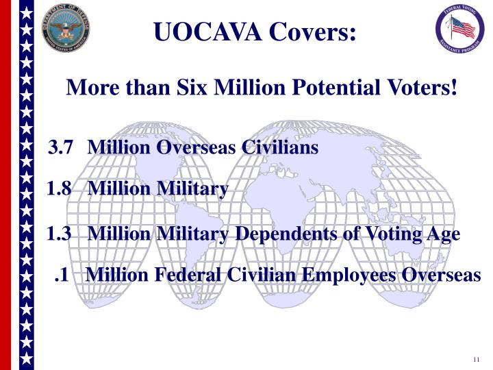 UOCAVA Covers: