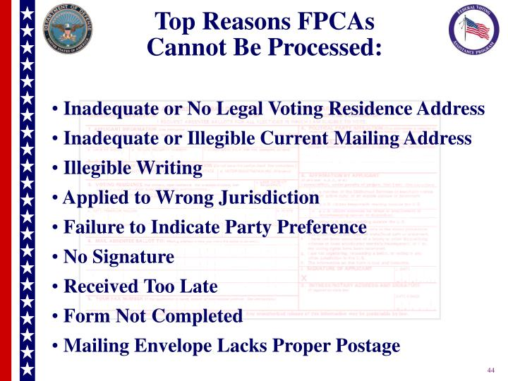 Top Reasons FPCAs