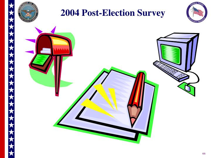 2004 Post-Election Survey