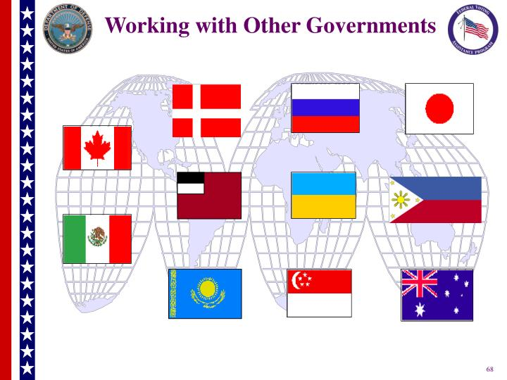 Working with Other Governments
