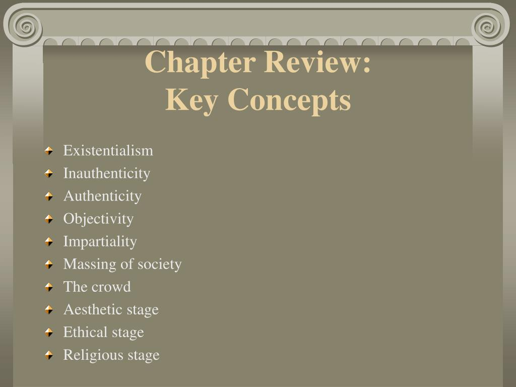 Chapter Review: