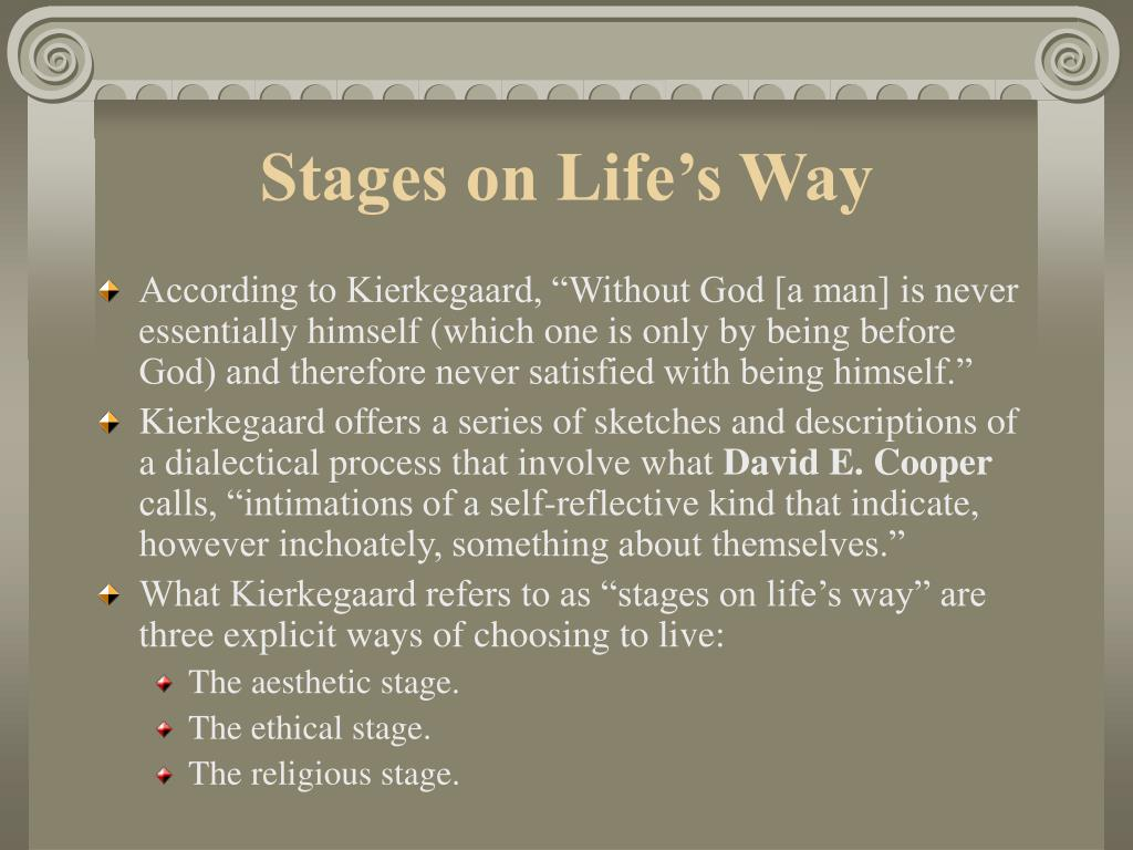 Stages on Life's Way