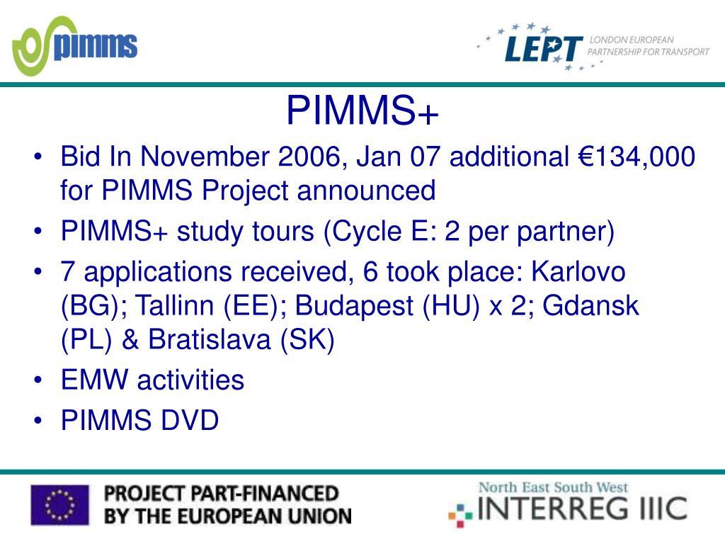PIMMS+