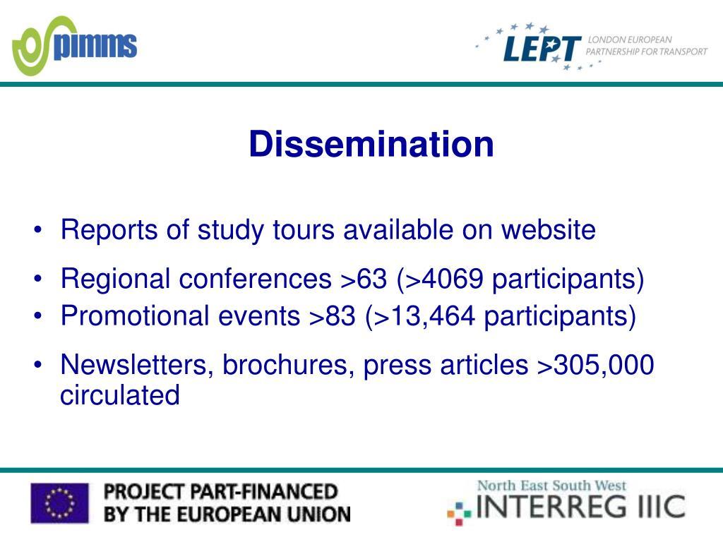 Dissemination