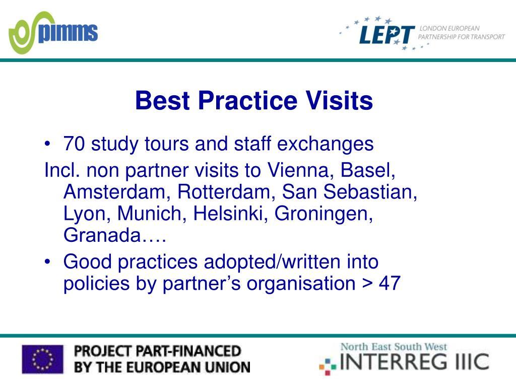 Best Practice Visits