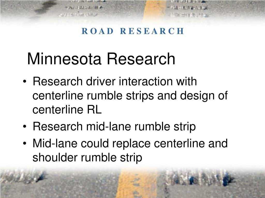 Minnesota Research