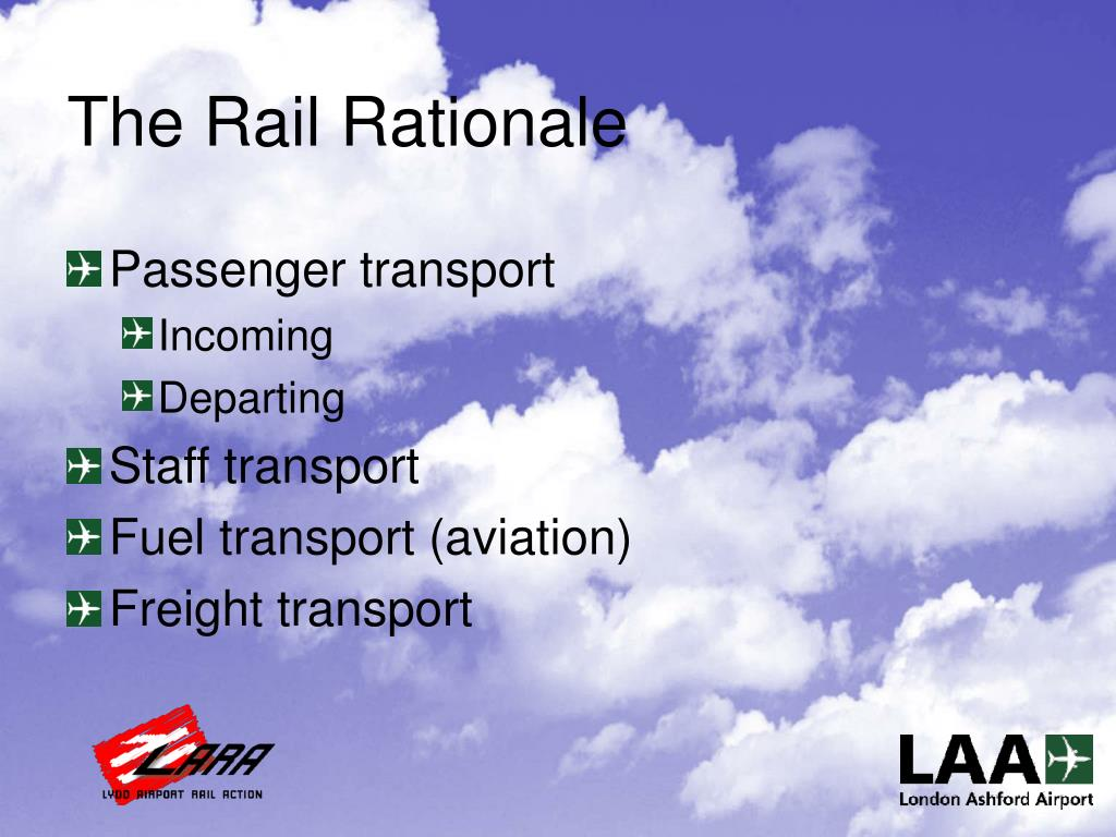 The Rail Rationale
