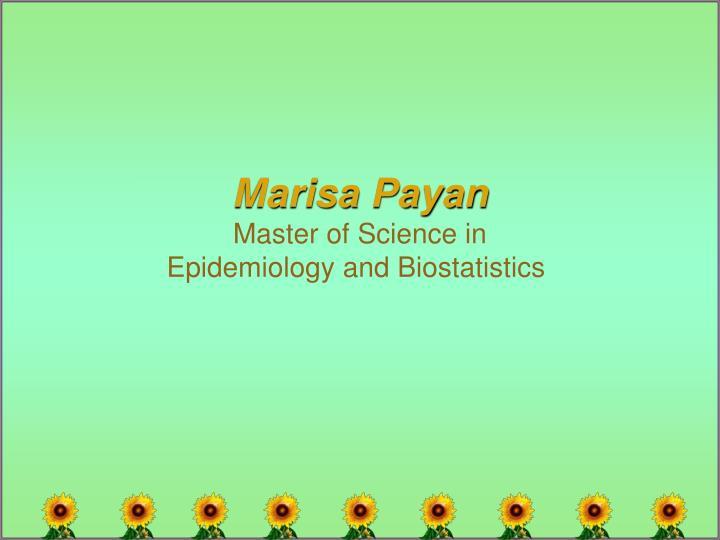 Marisa Payan