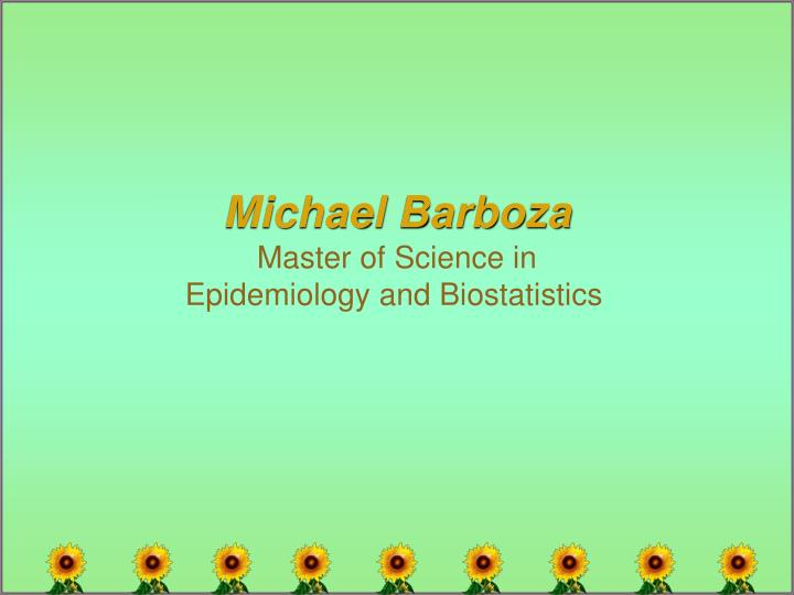 Michael Barboza