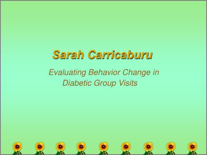 Sarah Carricaburu