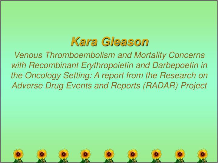 Kara Gleason